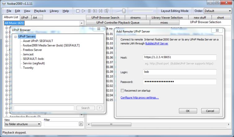 Docs/Connect With Foobar2000 md | BubbleUPnP Server