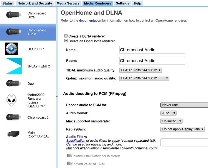 Docs/Config Media Renderers md   BubbleUPnP Server